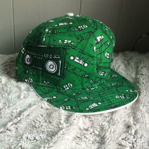 NEW ERA Boom Box Fitted Green